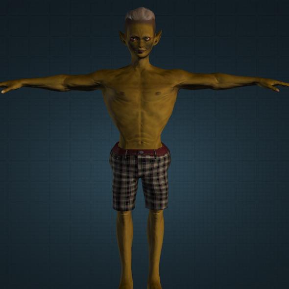 3DOcean Realistic Buto Kendil 9720885