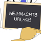 Doctor shows information: Christmas vacation in german - PhotoDune Item for Sale