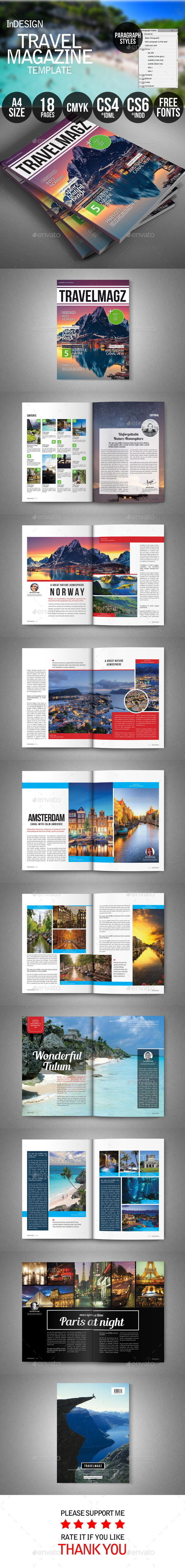 GraphicRiver Travel Magazine 9721353