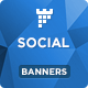 Social Banners - Social Web Banner Template - CodeCanyon Item for Sale