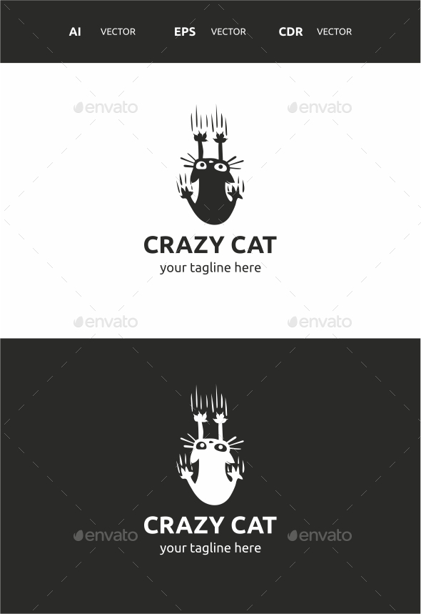 GraphicRiver Crazy Cat 9721575