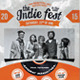 Indie Orange - Flyer - GraphicRiver Item for Sale