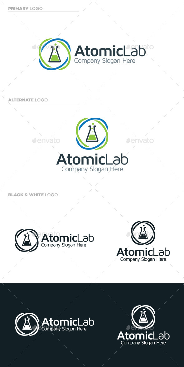GraphicRiver Atomic Lab 9721679