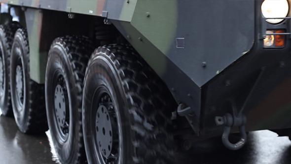 Military Truck Wheels