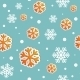 Abstract Christmas Seamless Background with Snow - GraphicRiver Item for Sale