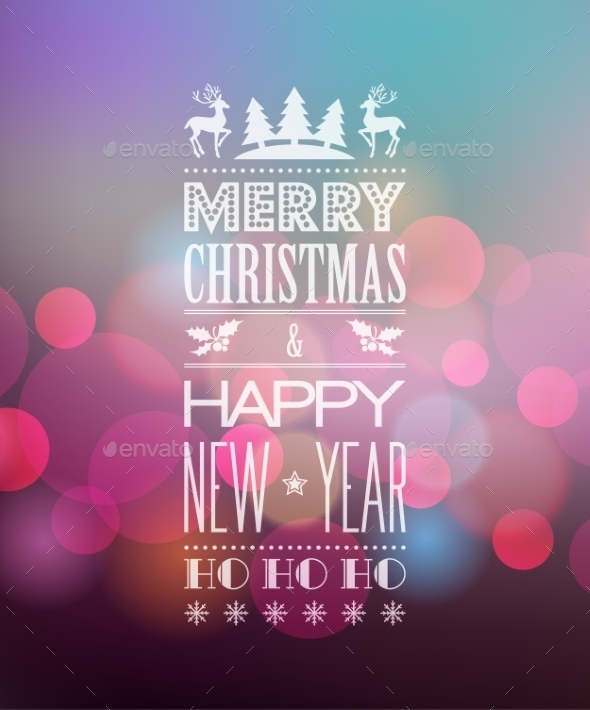 GraphicRiver Abstract Christmas Background 9722026