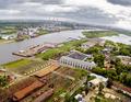 Aerial view on Tyumen Repair Yard. Russia - PhotoDune Item for Sale