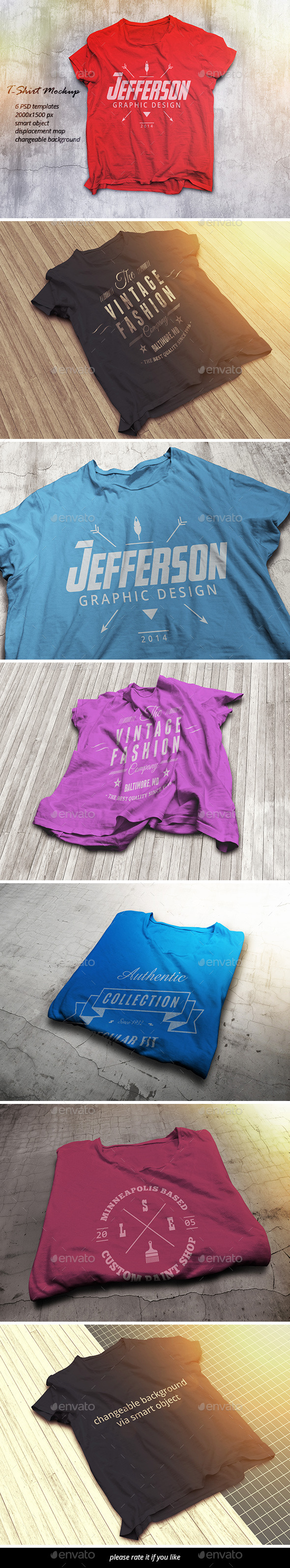 GraphicRiver T-Shirt Mockup 9722164