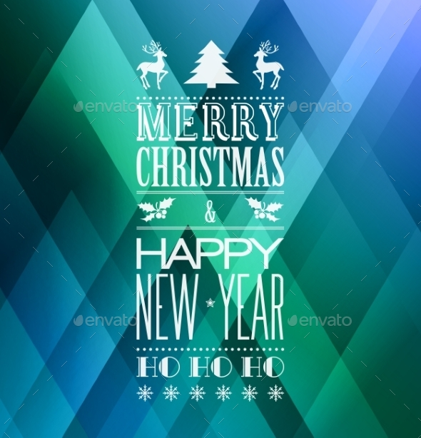 GraphicRiver Christmas Background 9722266