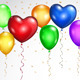 Background with Colored Balloons - GraphicRiver Item for Sale