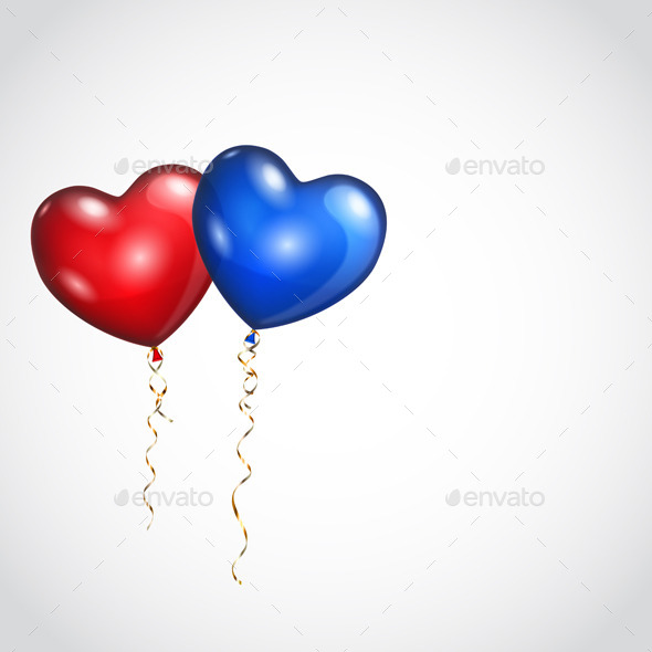 GraphicRiver Two Balloons 9722590
