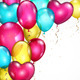 Background with Many Colored Balloons - GraphicRiver Item for Sale