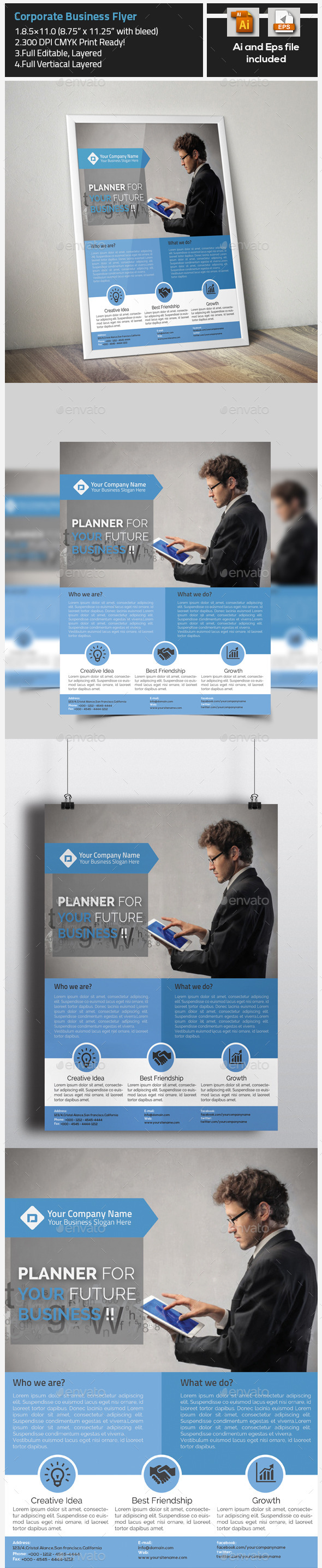 GraphicRiver Corporate Business Flyer 9722983