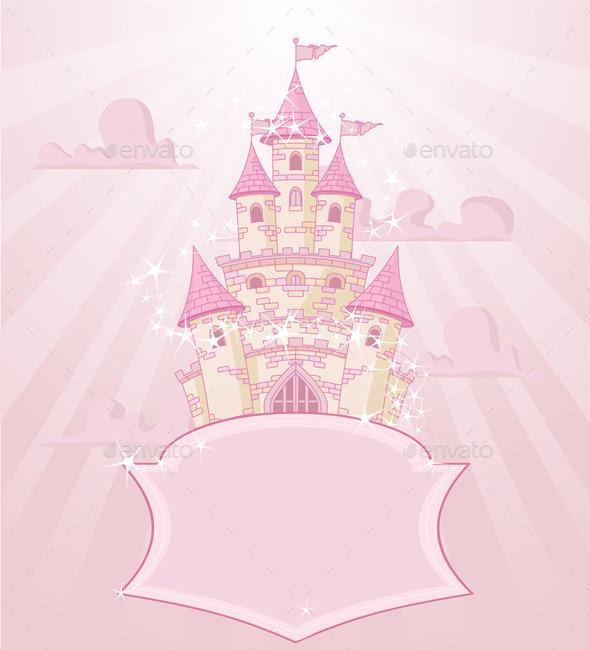 GraphicRiver Fairytale Castle 9723008