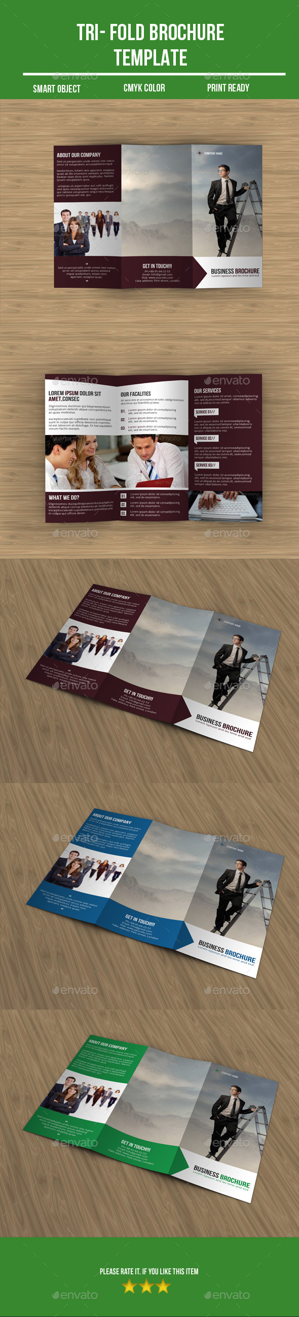 GraphicRiver Tri- Fold Business Brochure 9723077