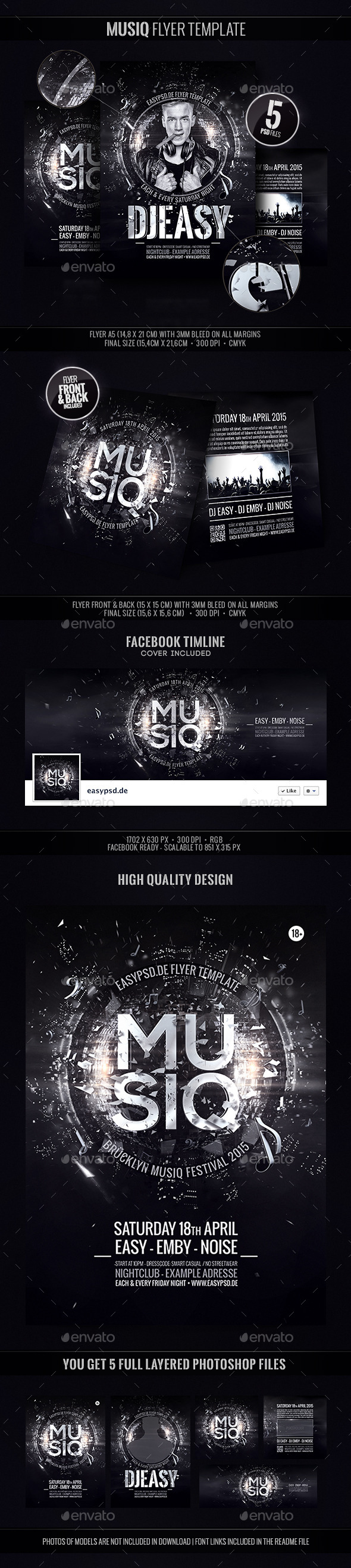 GraphicRiver Musiq Festival Template 9723236