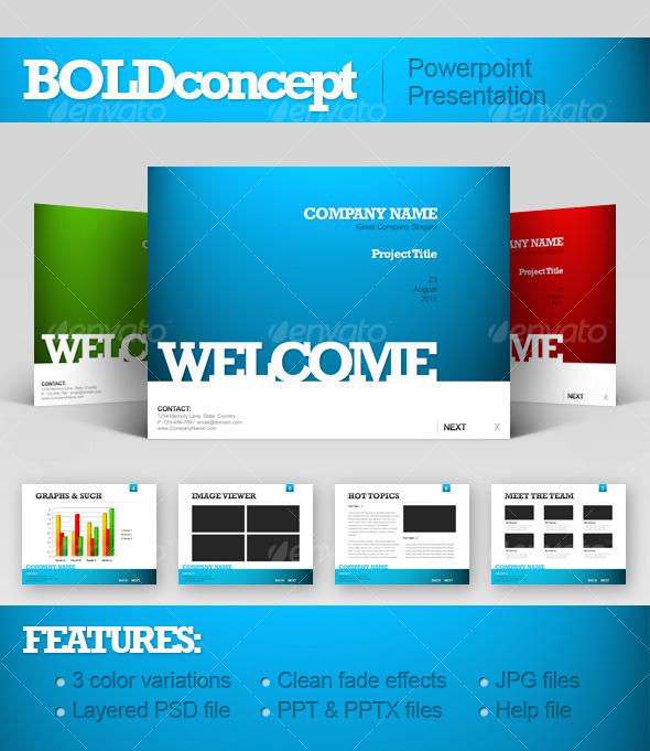 BoldConcept - Powerpoint Templates Presentation Templates