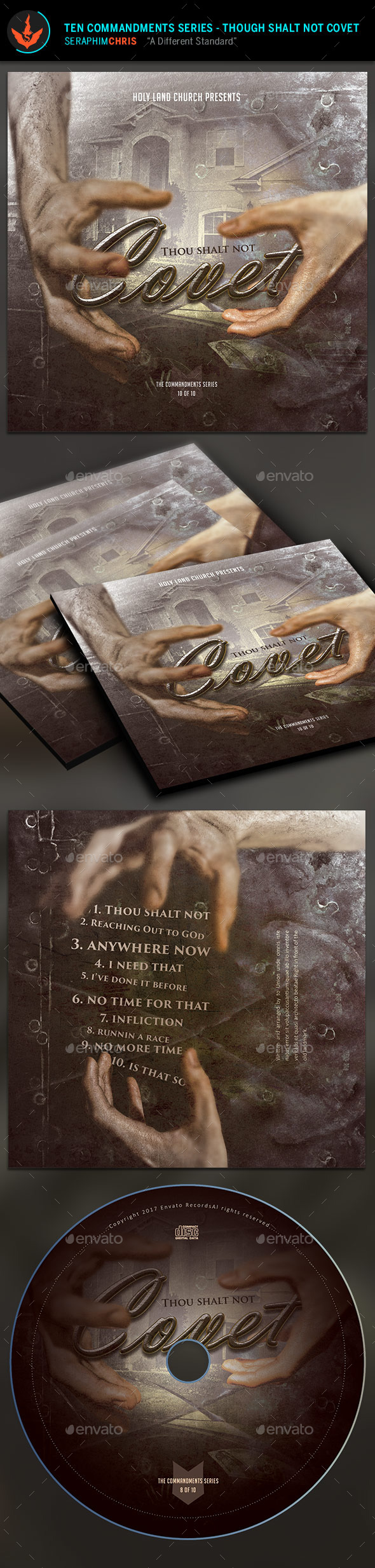 GraphicRiver Don't Covet CD Artwork Template 9723467