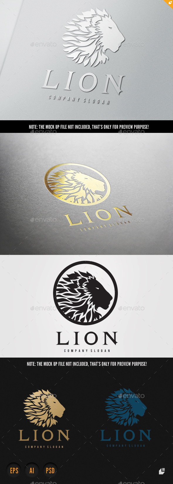 GraphicRiver Lion 9723538