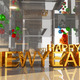 Happy new year 3D text - PhotoDune Item for Sale