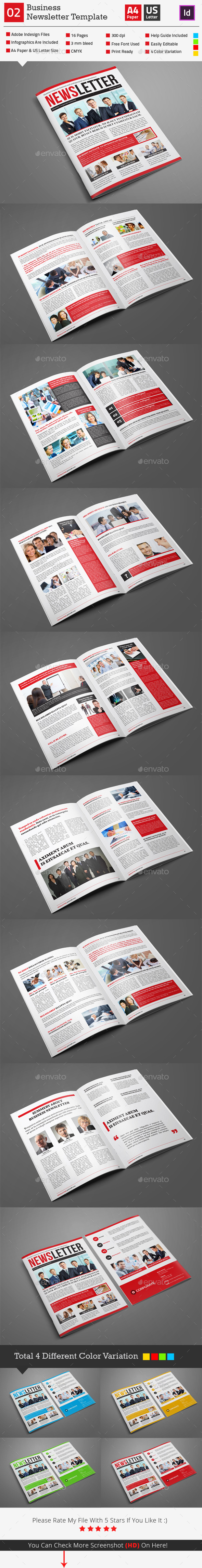 GraphicRiver Newsletter Template 02 9724427