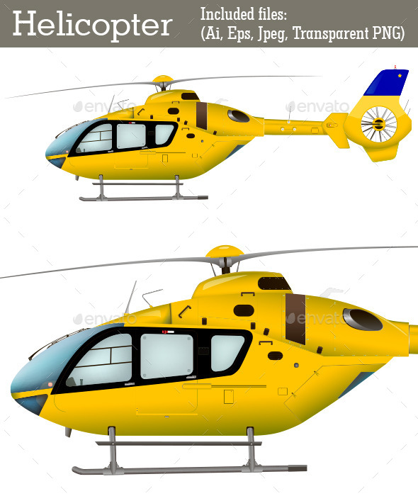 GraphicRiver Helicopter 9724481