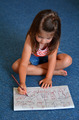 Little child draws at home - PhotoDune Item for Sale