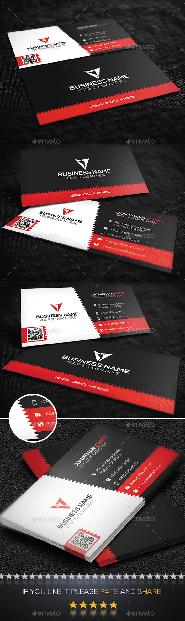GraphicRiver Corporate Business Card No.11 9724771