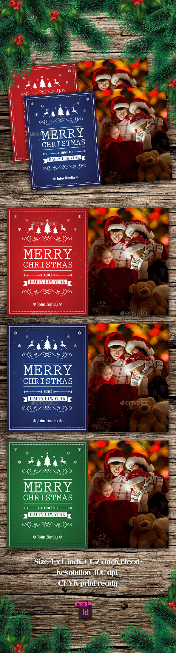 GraphicRiver Christmas Card 9690611