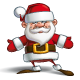 Happy Santa - Open Hands - GraphicRiver Item for Sale