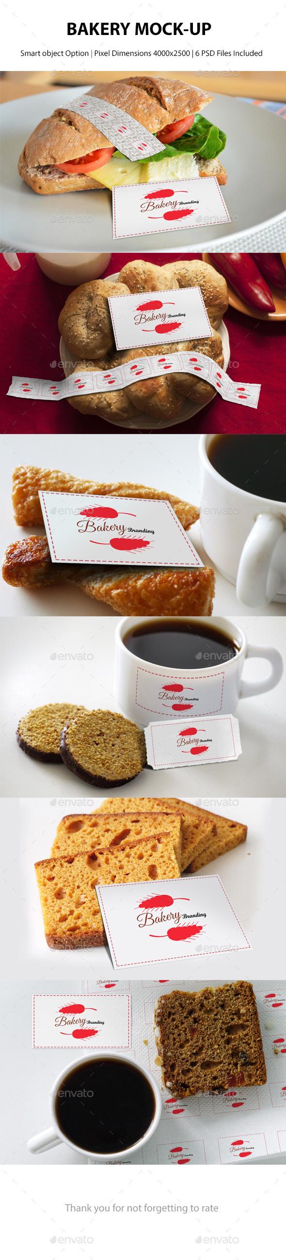 GraphicRiver Bakery Branding Mockup 9724817