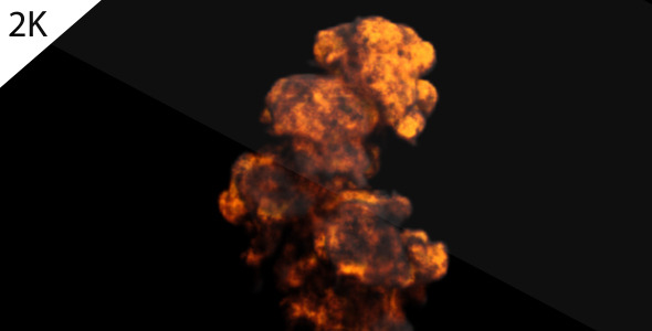 [VideoHive 981948] Explosion 2K at 120fps | Motion Graphics