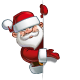 Happy Santa - Empty Label Presenting - GraphicRiver Item for Sale