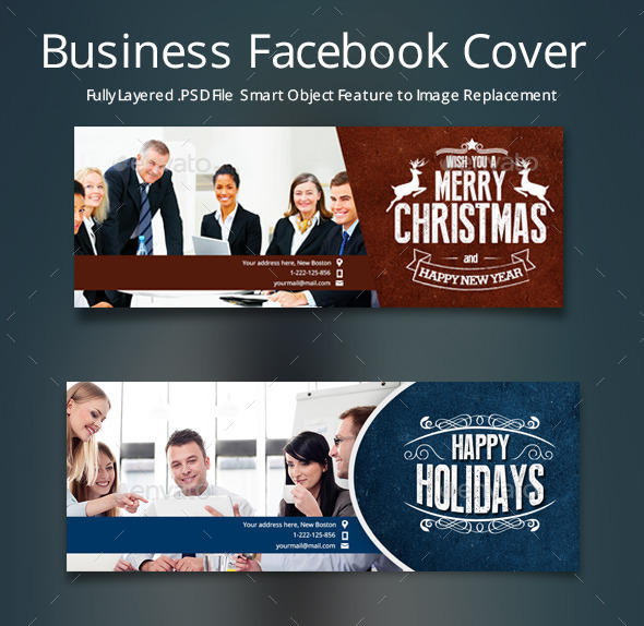 GraphicRiver Business Facebook Cover 9724953