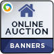 Real Estate Auction Banners - GraphicRiver Item for Sale