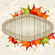 Autumn Background with Maple Leaves - GraphicRiver Item for Sale