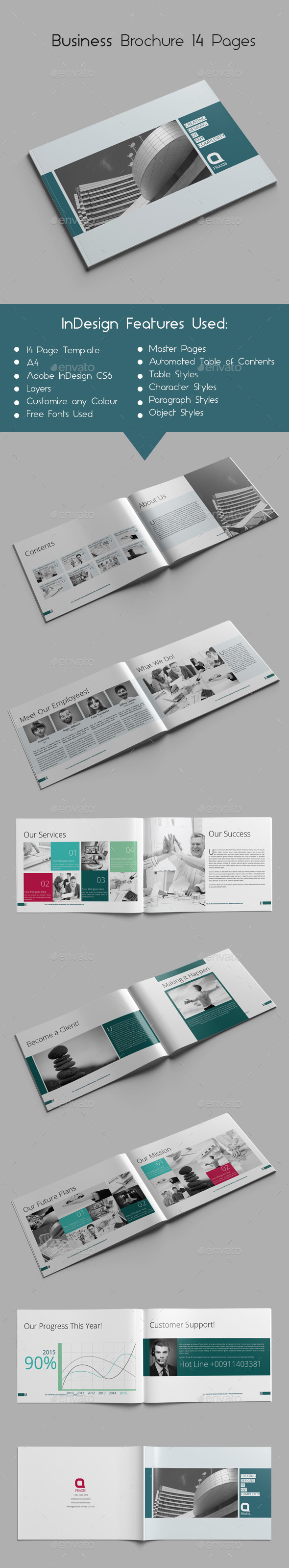 GraphicRiver Business Brochure 14 Pages 9725800