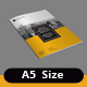 Minion A5 Portrait Brochure Template - GraphicRiver Item for Sale