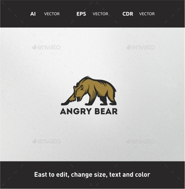 GraphicRiver Angry Bear 9725856