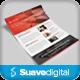 Bewara - Clean Multipurpose Corporate Flyer - GraphicRiver Item for Sale