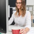Young businesswoman enjoying a mug of coffee - PhotoDune Item for Sale