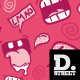 Comic Laugh Pattern - GraphicRiver Item for Sale