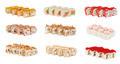 sushi rolls with sesame avocado and shrimp - PhotoDune Item for Sale