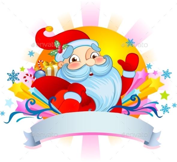 GraphicRiver Christmas Santa 9726100