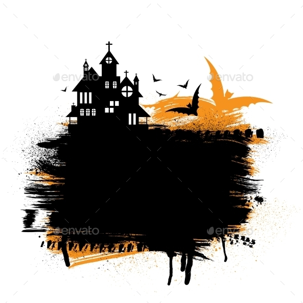 GraphicRiver Halloween Castle 9726772