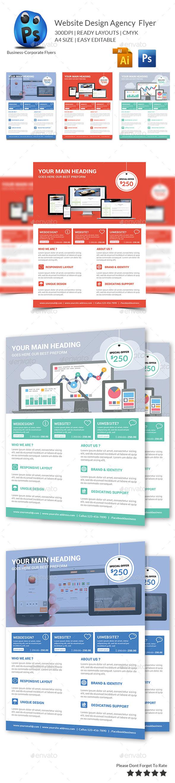 GraphicRiver Website Design Agency Flyer 9726980