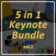 5-in-1 Keynote Bundle - GraphicRiver Item for Sale