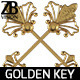 Antique Golden Key - GraphicRiver Item for Sale