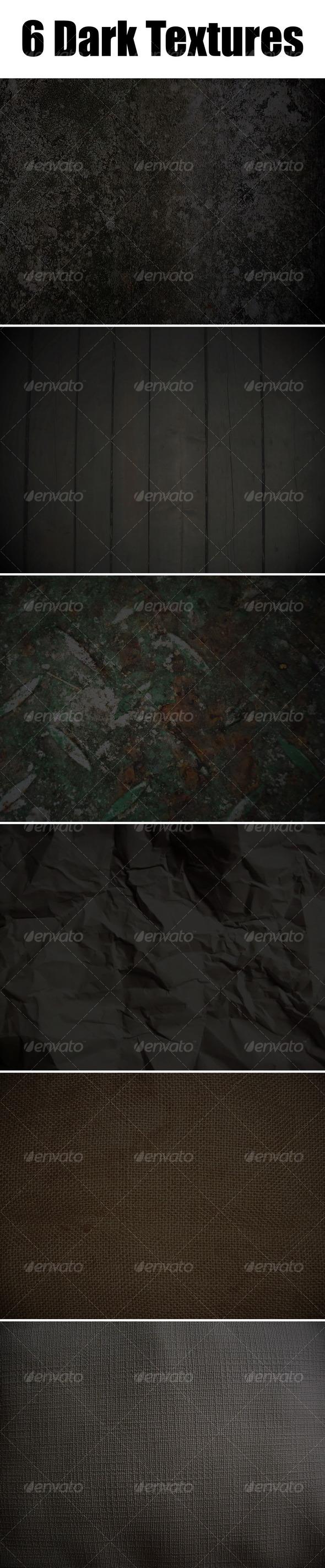 6 Dark Textures - Miscellaneous Textures
