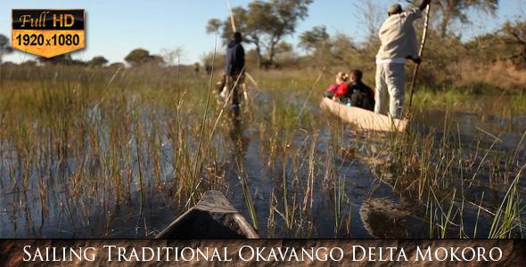 Sailing Traditional Okavango Delta Mokoro